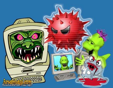 virus komputer ganas